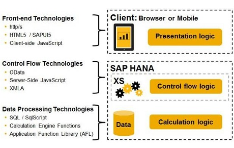 metric² uses your existing infrastructure and SAP HANA XS Engine for power and simplicity.